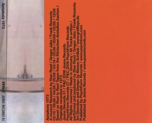 Stan Reed / Gregor Jabs / Frank Rowenta - Apoplexia 1973 - A Musical Research By Stan Reed / Gregor Jabs / Frank Rowenta