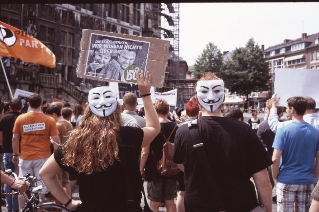 #StopWatchingUs: Anonymous auf dem Marktplatz II