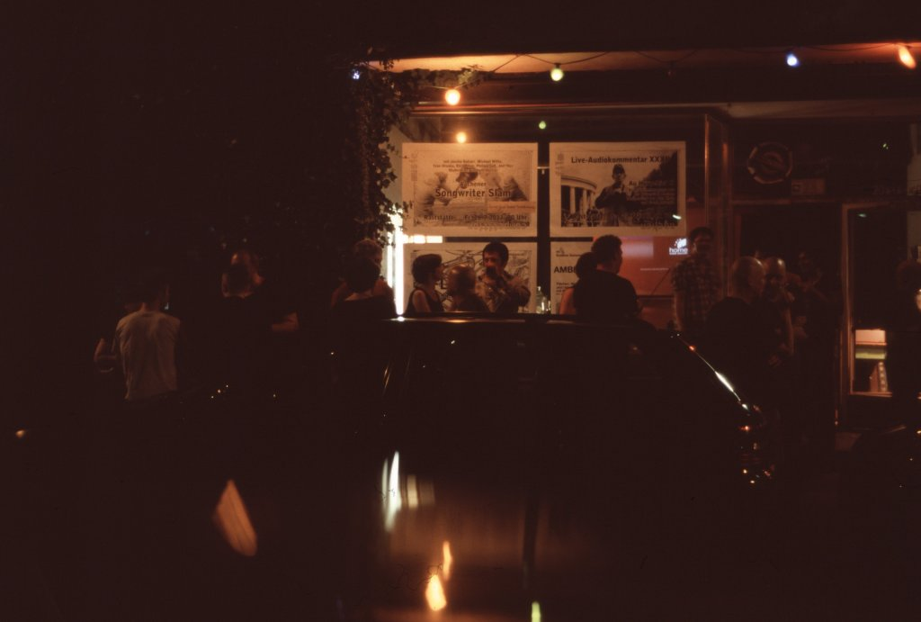 Au Hurgebiet: Trinkpause am späteren Abend III