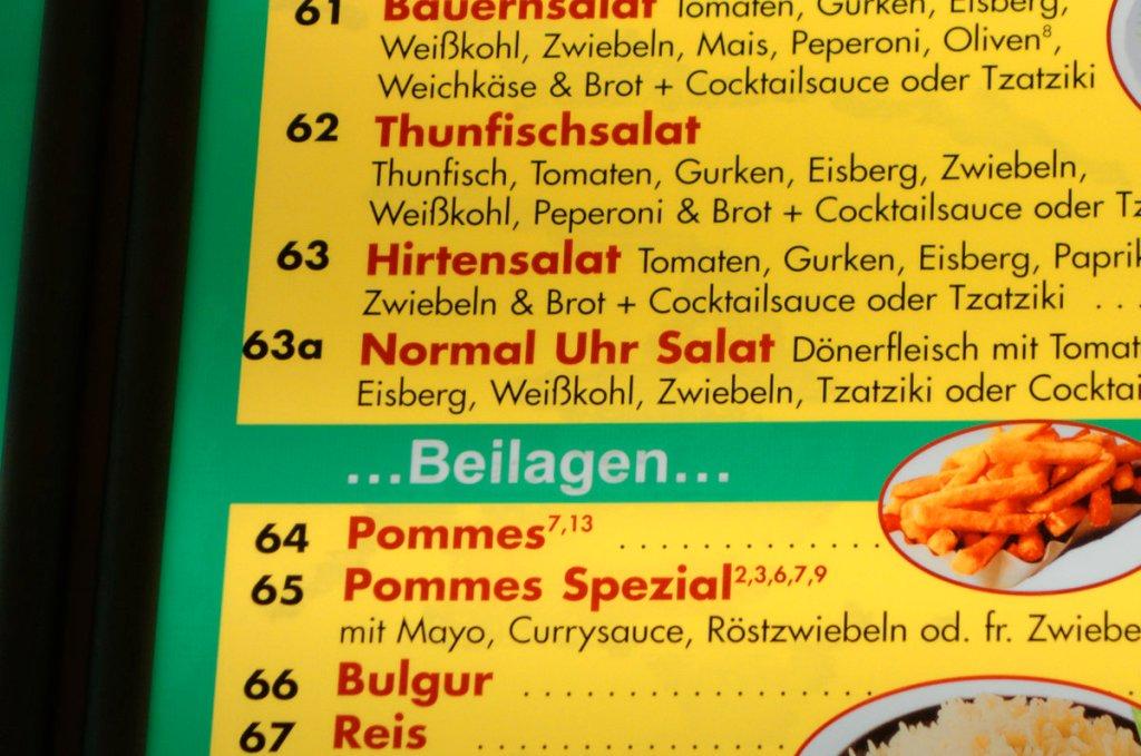 Normal Uhr Salat