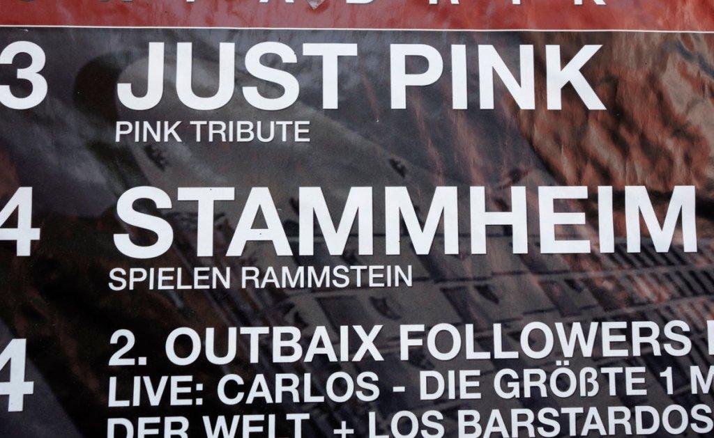 Stammheim spielen Rammstein