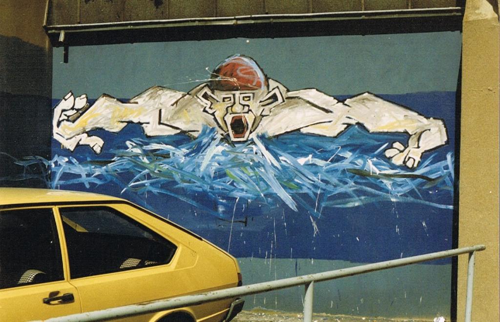 Klaus Paier 1987 Borngasse (1)