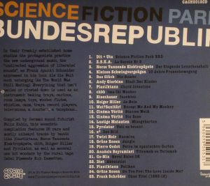 Science Fiction Park Bundesrepublik, Track list